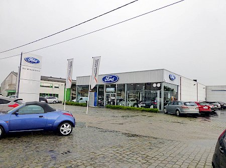 Ford garage de wispelaere aalter industrie aalters for Garage ford savoie
